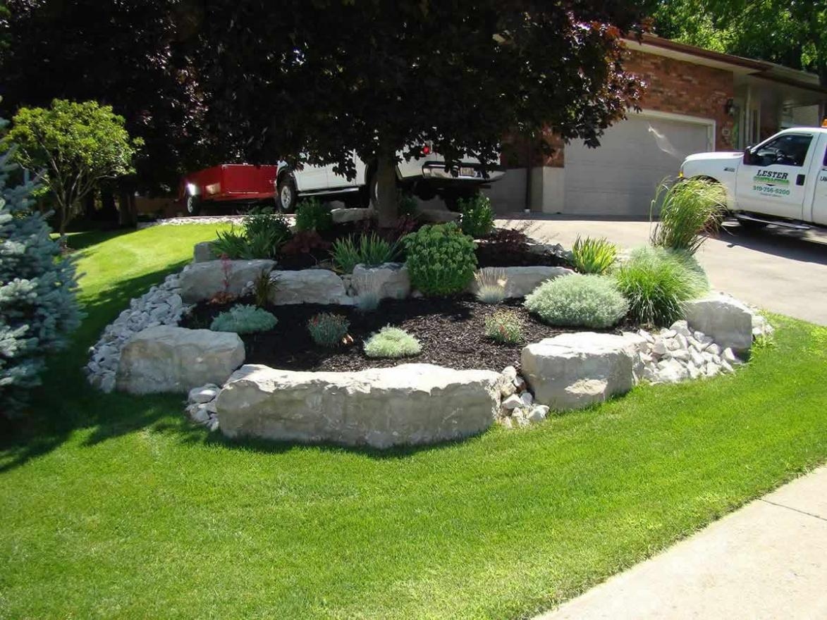 Landscaping With Mulch And Stone : Professional landscaping a great investment lester