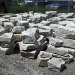 Armour Stone at Lester Contracting.