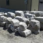 More Armour Stone in the yard at Lester Contracting.