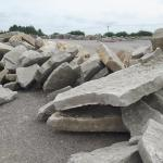 Armour Stone blocks and steps, lots to choose from.